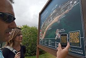 Más de 1.000 personas se han descargado el mapa turístico de Santander en su Smartphone