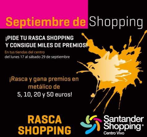 Vuelve el 'Rasca Shopping'