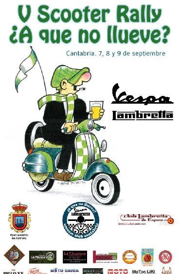 Organizado el quinto encuentro de Vespas y Lambrettas