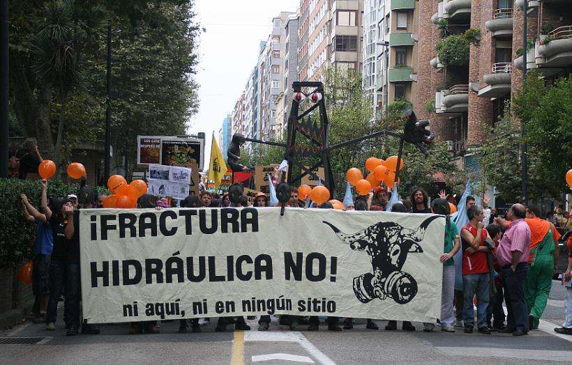 Cantabria prohíbe el 'fracking'