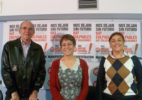 Los sindicatos confían en el éxito de la huelga general en Cantabria