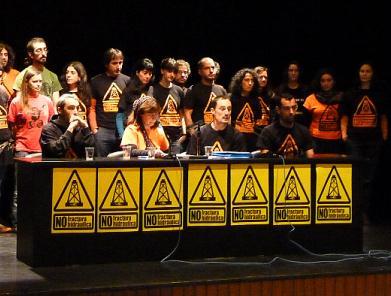 Asamblea contra el 'fracking'