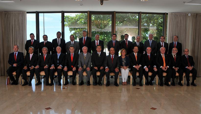 Botín preside los 'Premios Santander Universidades 2012'