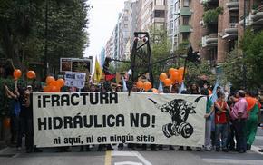 El 'fracking' ha suscitado un fuerte rechazo social en Cantabria y va a ser prohibido por el gobierno cántabro