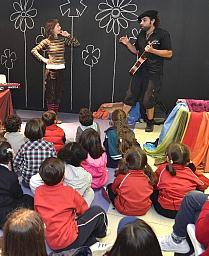 Las ludotecas municipales prestaron sus servicios a cerca de 800 niños y casi 600 familias en 2012