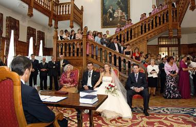 El Palacio de la Magdalena acogió en 2012 el 94 por ciento de las bodas civiles celebradas en el Ayuntamiento