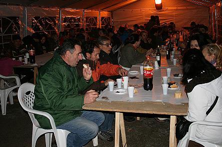 Más de 200 personas disfrutaron de la VII Fiesta de la Matanza en Villanueva de la Nía