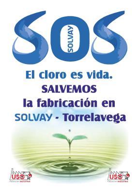 Solvay baraja el cierre de la planta de cloro