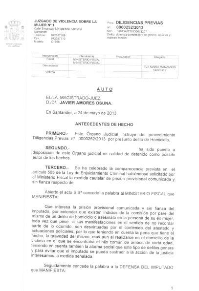 La sociedad cántabra condena el asesinato por violencia de género ocurrido en Santander