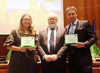 Santander recibe cinco banderas verdes como municipio responsable en medio ambiente, consumo y sostenibilidad