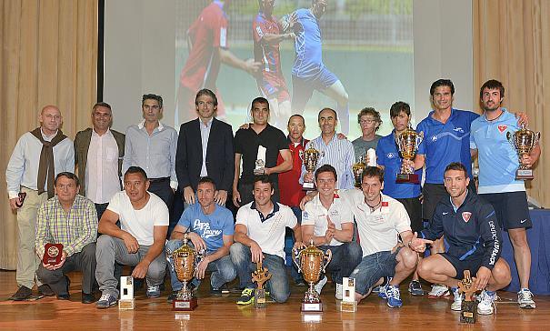 El alcalde preside la entrega de premios del XIV Campeonato de España de fútbol para bomberos