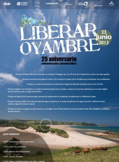 Organizan una jornada para reivindicar el Parque Natural de Oyambre