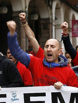 Miles de personas volvieron a apoyar a los trabajadores