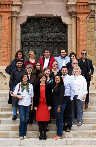 Una delegación de universidades norteamericanas visita la Fundación Comillas