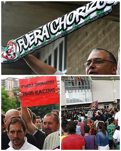 """Miles de personas gritan """"¡Fuera chorizos del Sardinero!"""""""