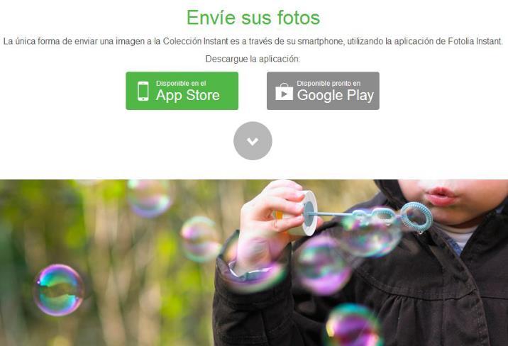 Gana dinero con tus fotos de móvil: Fotolia lanza Instant