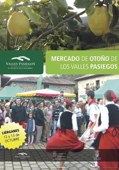 Mercado de Otoño de los Valles Pasiegos el 12 y 13 de octubre
