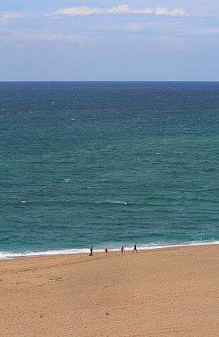 En la imagen una playa de Cantabria