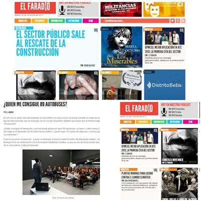 Nace 'El Faradio', nuevo proyecto cántabro de periodismo online bajo suscripción