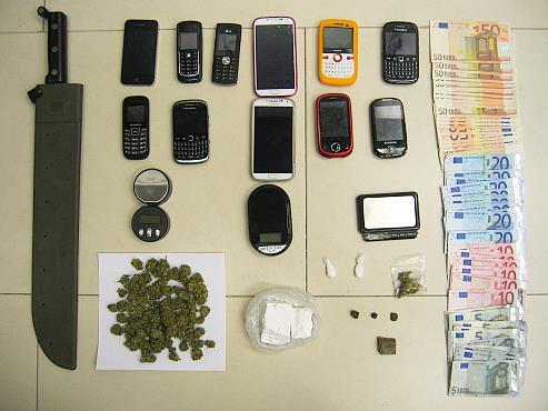 Desarticulado grupo dedicado al tráfico de drogas