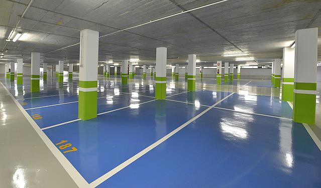 Se abre el aparcamiento fantasma de Mendicouague