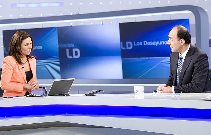El presidente de Cantabria, Ignacio Diego, en TVE / Foto: RTVE