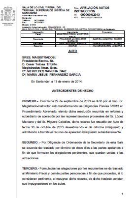 Rechazados los recursos de apelación de Marcano e Higuera contra la instrucción del caso de la Casa de los Gorilas