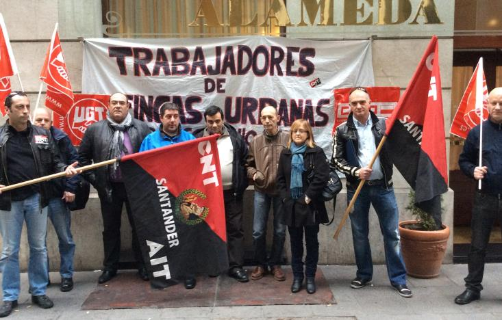 Termina sin acuerdo la reunión entre las empresas de fincas urbanas de Cantabria y los trabajadores