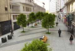 20 empresas presentan sus ofertas para ejecutar las obras de peatonalización de la calle Cádiz