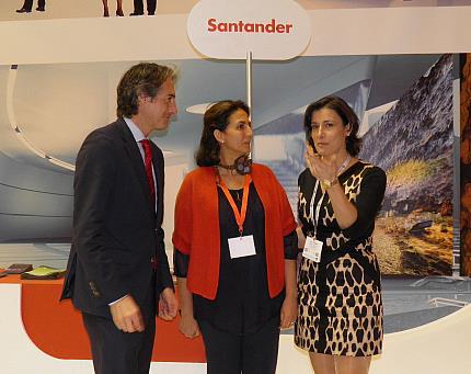 Santander en Fitur