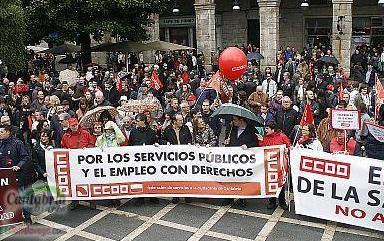 Los recortes 'desangran' el sector de la Sanidad y Servicios Sociales en Cantabria, según CC OO