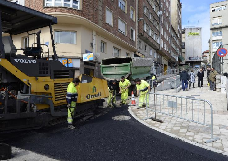 La calle Antonio Mendoza se abre al tráfico el viernes