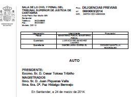 Admitida a trámite la querella contra el juez Acayro de Castro Urdiales