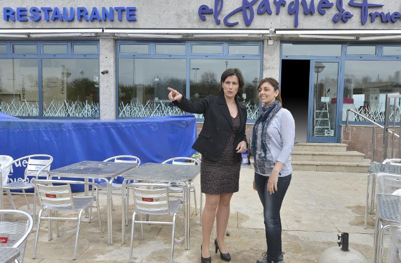 Reabre el restaurante El Parque, que había sido destrozado por el temporal