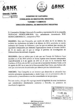 BNK no recurrirá la prohibición del permiso Arquetu