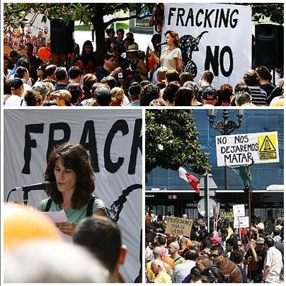 (Archivo) Marchas contra el 'fracking'