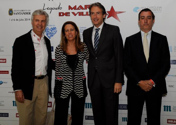 Inaugurado 'El legado de Maria de Villota' que hasta el día 6 llenará Santander de actividad en torno al Deporte