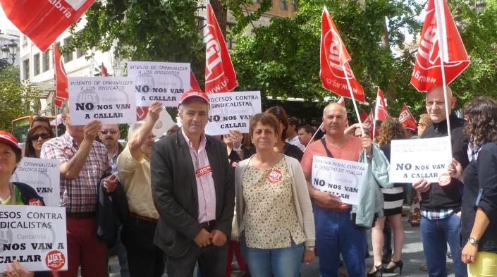 UGT y CCOO inician sus movilizaciones contra la persecución al derecho de huelga y a la libertad sindical