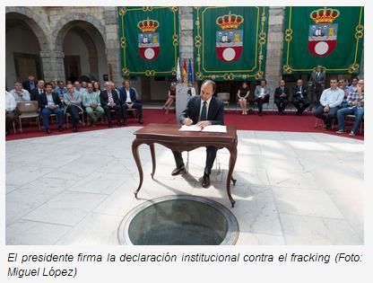 Cantabria se planta contra el 'fracking'