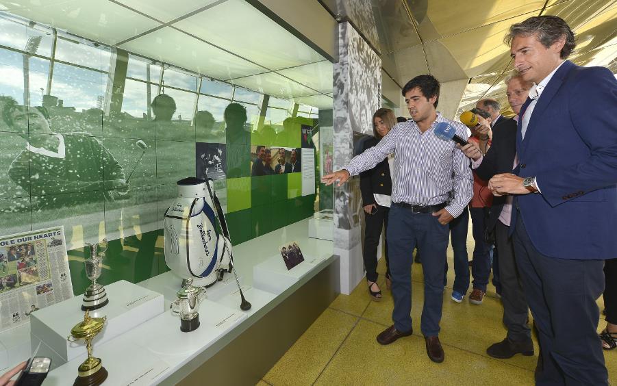 Inaugurado el módulo homenaje a Seve Ballesteros en el Museo del Deporte