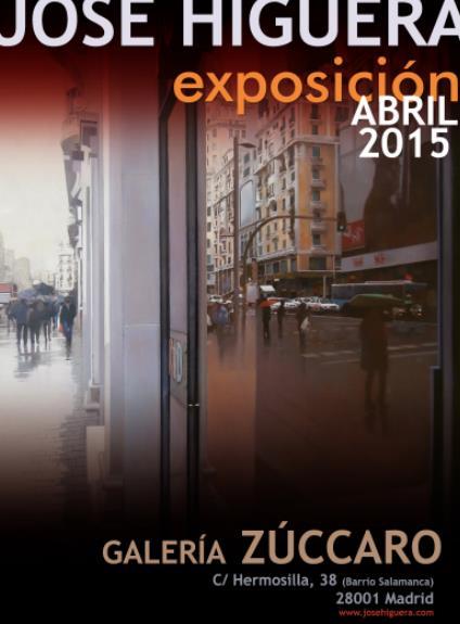 El pintor cántabro José Higuera expone en la prestigiosa galería madrileña Zúccaro