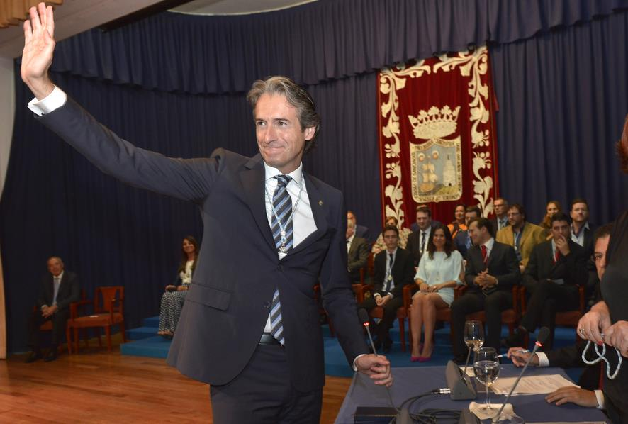 De la Serna durante su investidura como Alcalde