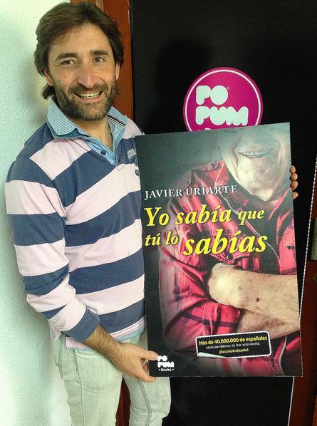 [ENTREVISTA] Javier Uriarte: «Me emocioné leyendo mi propio libro»