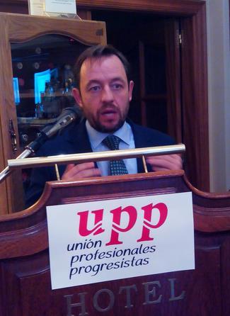 Francisco de la Torre, número 2 por Madrid de la candidatura de Ciudadanos, en Santander