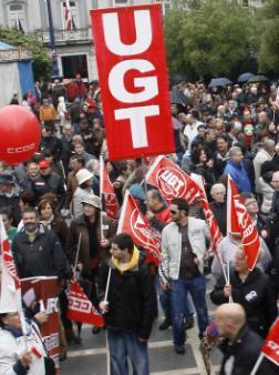 Manifestación por el empleo (Foto: archivo)