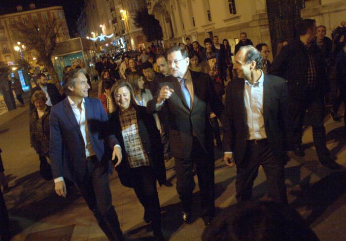 """Rajoy afirma que será """"sensible"""" con la comarca del Besaya"""