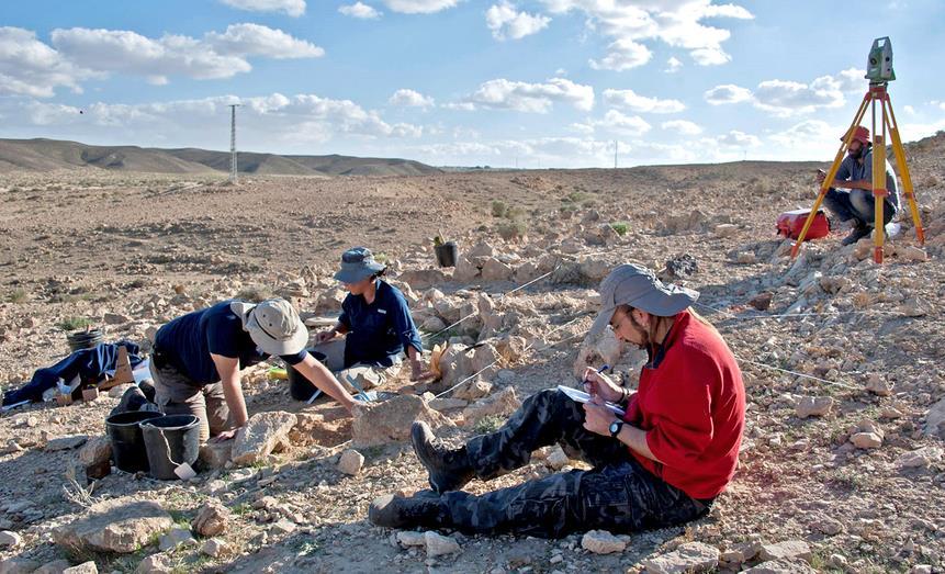 Científicos cántabros participan en un proyecto arqueológico en Israel