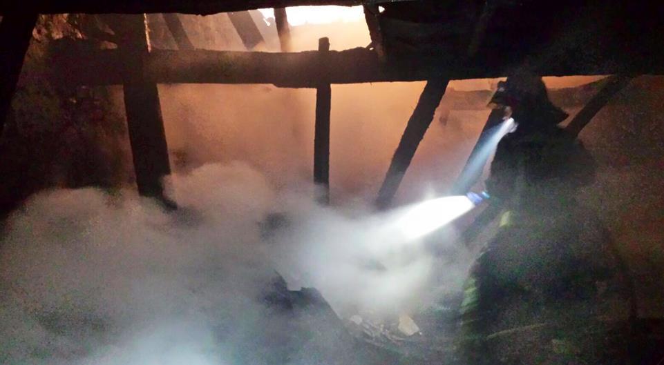Extinguido el incendio de una cuadra en Rionansa