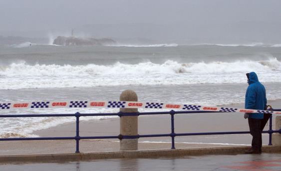 Cantabria estará en aviso naranja por fenómenos costeros adversos durante el martes y el miércoles