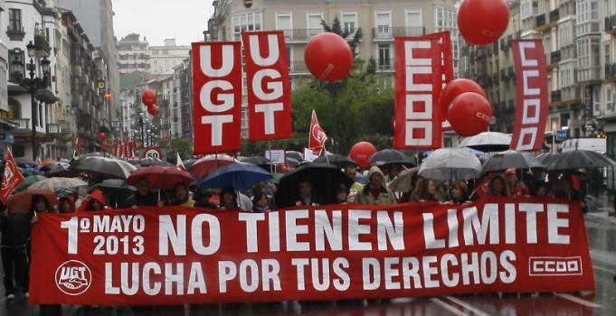 Cantabria es la autonomía con peor evolución del empleo / Foto: 1 de mayo de 2013